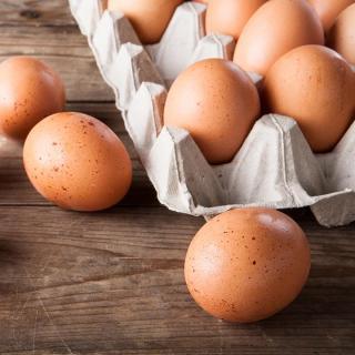 Eier lose Größe M