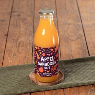 Apfel-Sanddorn-Saft Bio