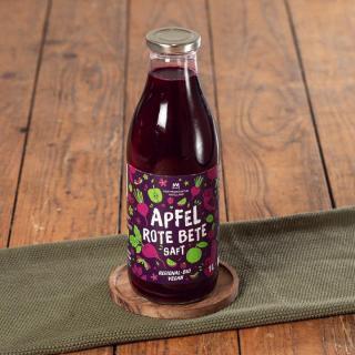 Apfel-Rote-Bete-Saft Bio