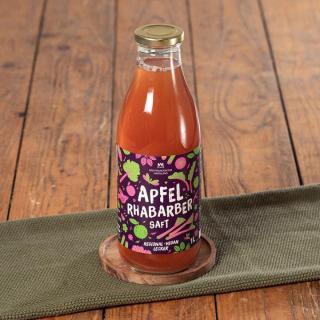 Apfel-Rhabarber-Saft