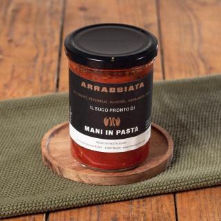 Bio Tomaten-Sauce Arrabbiata