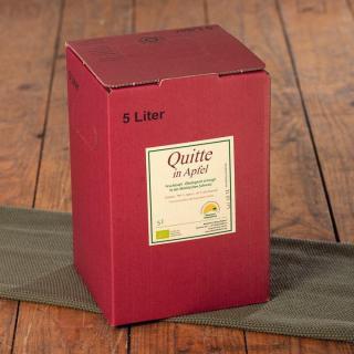 Apfel-Quitten-Saft 5l-Bag-in-Box 20% Quitte