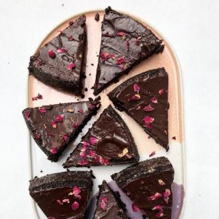 Dark Chocolate Oil Cake 70%