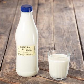 Büffelmilch, mind. 6,8% Fett