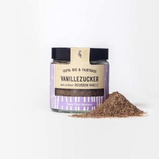 Vanillezucker 10% Bourbon im Glas