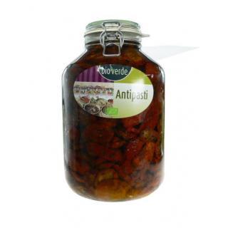 Getrockn. Tomaten in Öl Thekenglas