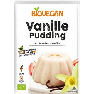 Biovegan Vanille Pudding, 33 gr Packung