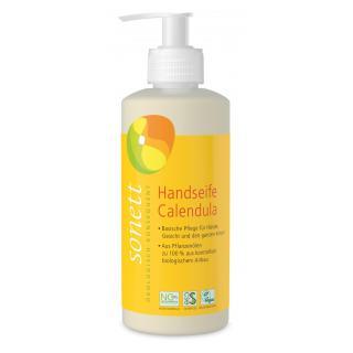 Handseife Calendula, 0,3 ltr Flasche