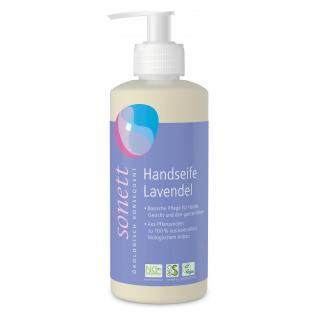 Handseife Lavendel, 0,3 ltr Flasche