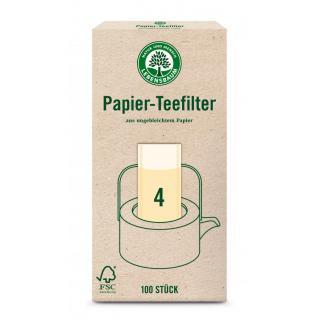 Papier Teefilter, Größe 4
