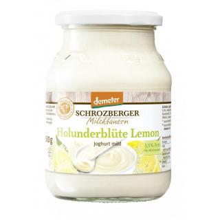 Joghurt Holunderblüte Lemon | Glas