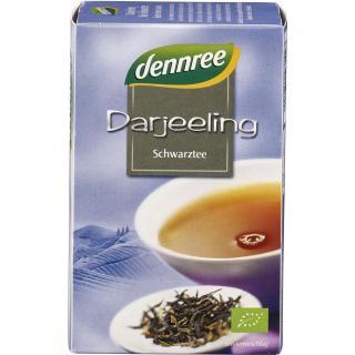 dennree Darjeeling Schwarztee, 1,5 gr, 20 Btl Pack