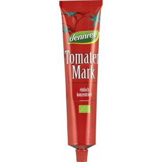 dennree Tomatenmark in der Tube, 22% Trockenmasse