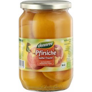 dennree Pfirsiche, halb & entsteint