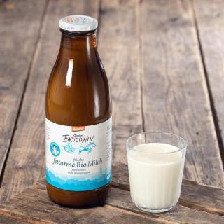 Fettarme Milch 1,5% in Flaschen