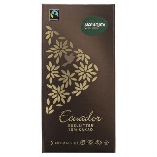 Edelbitter Schokolade Ecuador 70%