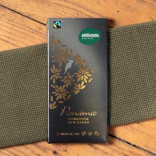 Feinbitter Schokolade Panama 80%