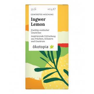 Ingwer Lemon  20x2g