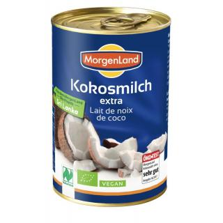 Kokosmilch extra 22% Fett  400ml