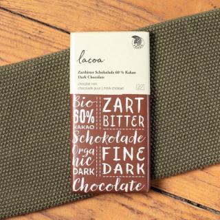 Lacoa Zartbitterschokolade  100g