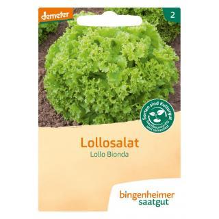 Pflücksalat Lollo Bionda, 0,2