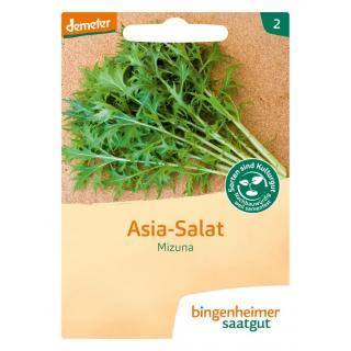 Asia Salat Mizuna, 4 gr Tüte