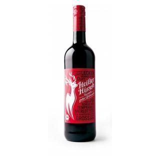 Acht Grad plus Heißer Hirsch rot, 0,75 ltr Flasche