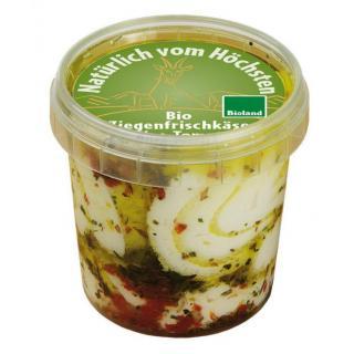 Ziegenfrischkäse Olive-Toma