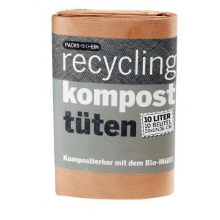Packs Bio Ein Abfallbeutel Komposttüten