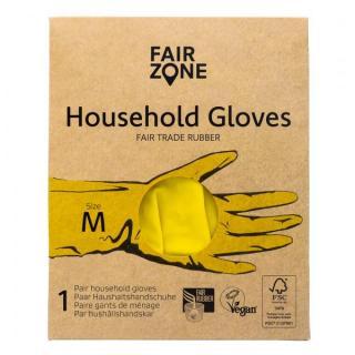 FairZone Haushaltshandschuhe, Größe M, 1 Paar Pack