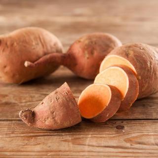 Süßkartoffeln orange