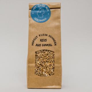 Reis aus Dinkel