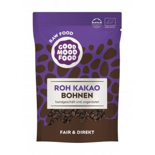 Roh Kakao Bohnen