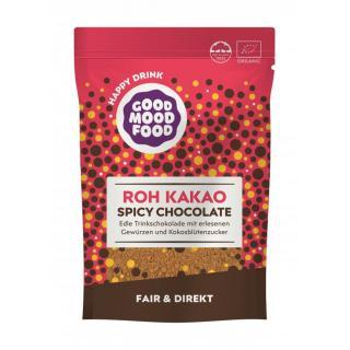Roh Kakao Trinkschokolade