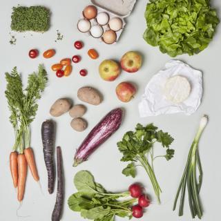 Schnupper Kiste vegetarisch mit Eiern
